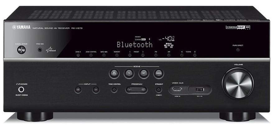 Yamaha RX-V679 7.2CH AV Receiver with Bluetooth, WiFi & AirPlay