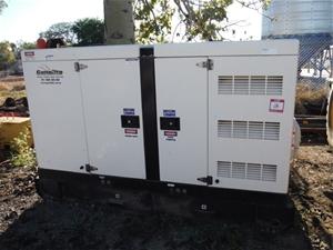 2016 Genelite GMS30CS-AU Generator on Sk