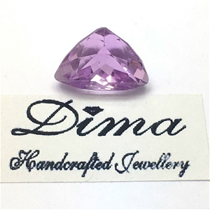 One Stone Kunzite 6.88ct in Total