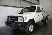 Unreserved 2011 Toyota LandCruiser Workmate