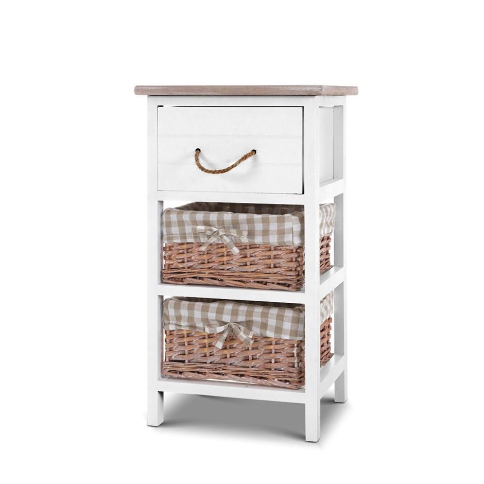 Artiss Storage Cabinet Bedside Table Dresser Chest Drawers Bedroom Hallway