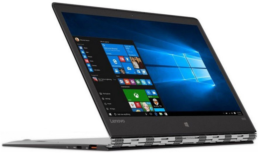 Lenovo Yoga 900S-12ISK 12.5-inch Notebook, Silver