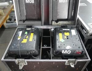 1 Pair of Martin Harman MAC 600 Moving H