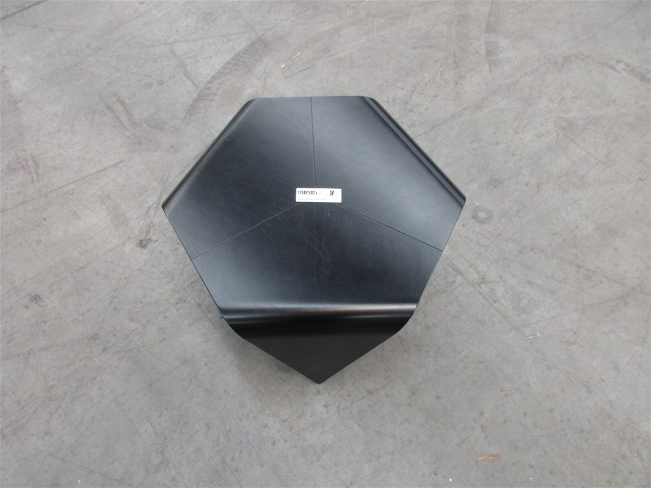 Black Hexagon Chair