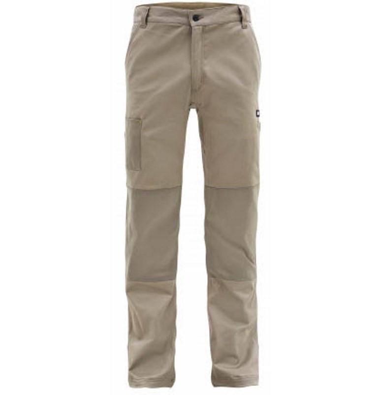 Pair CAT Cotton Drill Machine Pants, Size W36 x L32, 97% Cotton, 3% Spandex