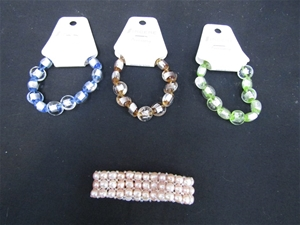 Approximate 50 Assorted Ladies Bracelets