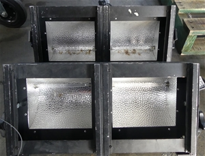 2 x Polite PR10-CHA/2 lights, Volts 220-