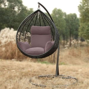 Maxine Birds Nest Egg Chair Black Auction Graysonline