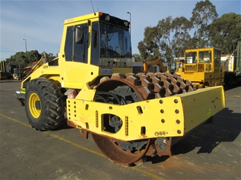 2012 Bomag BW216PD-4 Pad Foot Roller