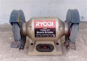 Phenomenal Bench Top Grinder Ryobi 1500Mm 6 Inch 264899 9 Machost Co Dining Chair Design Ideas Machostcouk