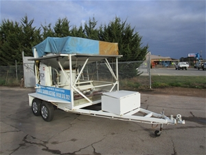 Tandem Trailer With Fully Equipped Mobil