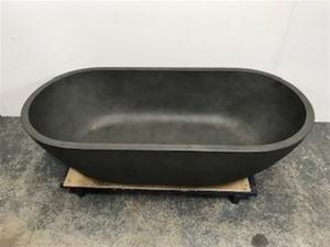Grey Freestanding Bath, 1500 x 750 x 500