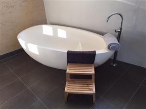 Limestone Freestanding Bath, 1700 x 850m