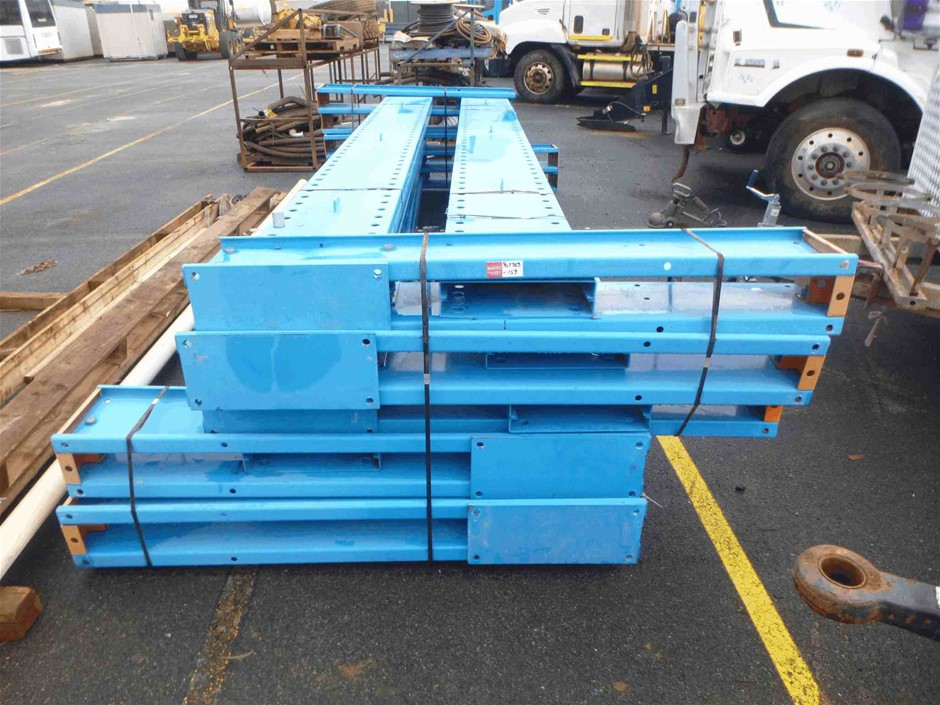 Pallet Containing 5 Sections of Shelving Supports
