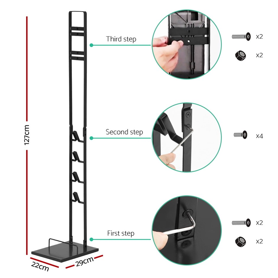 Freestanding Handheld Vacuum Stand Rack Holder V6 7 8 V10