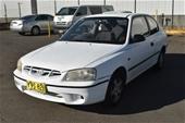 2002 Hyundai Accent GL LS Auto Hatchback