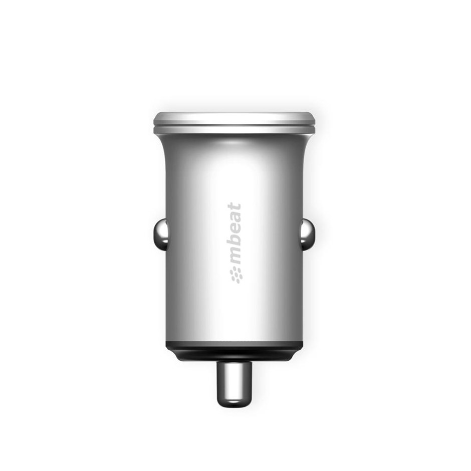 mbeat MB-CHGR-C248 Power Dot Pro Dual port 4.8A Rapid Car Charger