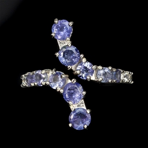 Unique Genuine Tanzanite Ring.
