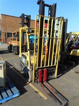 2012 Hyster J1.8XNT.MWB 1.8 Ton Electric 3 Wheeled Counter Balance Forklift