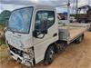 2011 Mitsubishi Fuso Canter 515 4 x 2 Tray Body Truck (STAT WOVR)