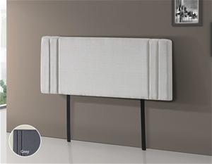Linen Fabric Double Bed Deluxe Headboard