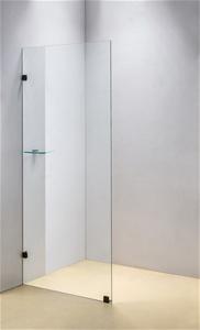 900 x 2000mm Frameless 10mm Safety Glass