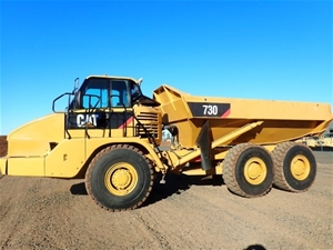 2004 Caterpillar 730 Dump Truck