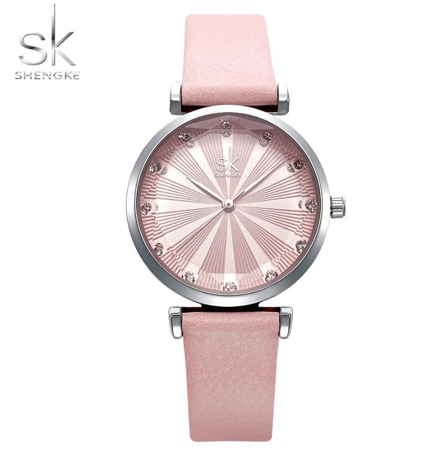 SK Women Fashion & Casual Watch Miyota movement Leather Bracelet