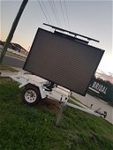 Trailer Mounted Sign Board, Retail Stock and Fittings