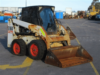 Bobcat S160 Skid Steer