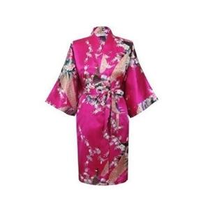 Japanese Silk Kimono - Pink