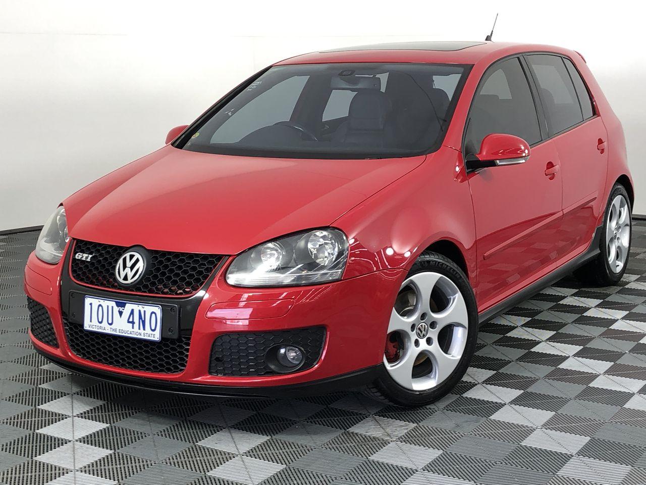 2008 Volkswagen Golf Gti 1k Automatic Hatchback Auction