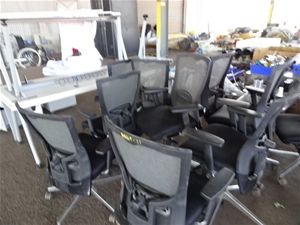 A Quantity of Assorted Office Furniture