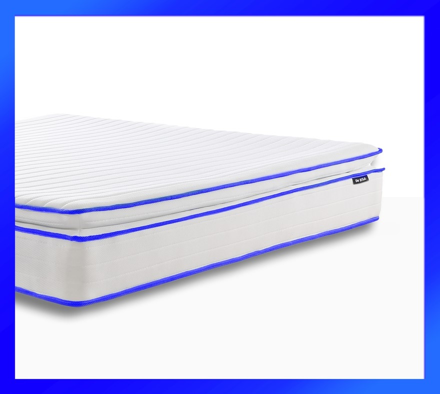 Apollo Blue - Pillow Top Mattress with Two Thousand mini springs*, Queen