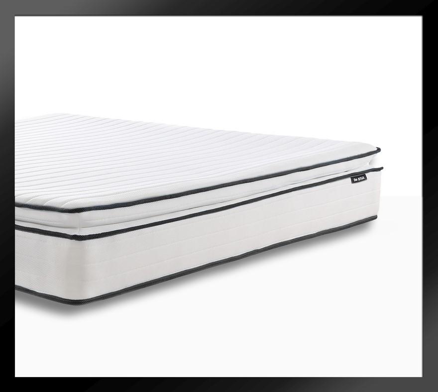 Apollo Black - Pillow Top Mattress with Two Thousand mini springs*, King