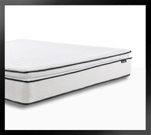 Apollo Black - Pillow Top Mattress with