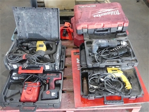 Pallet of 5 x Assorted Power Tools, incl