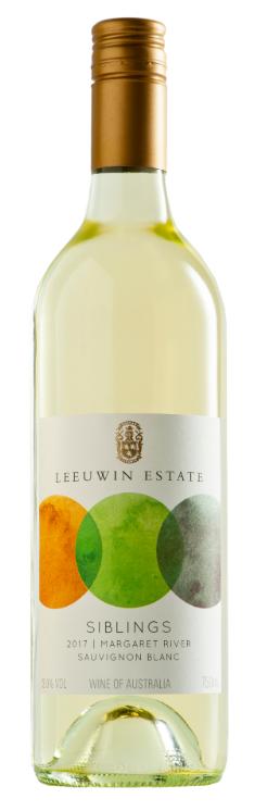 Leeuwin Estate Siblings Sauvignon Blanc Semillon 2017 (12 x 750mL), WA.