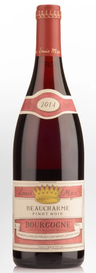 Louis Max Bourgogne Pinot Noir 2016 (12 x 750mL), France.