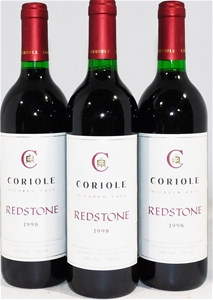 Coriole `Redstone` Red Blend 1998 (3x 75