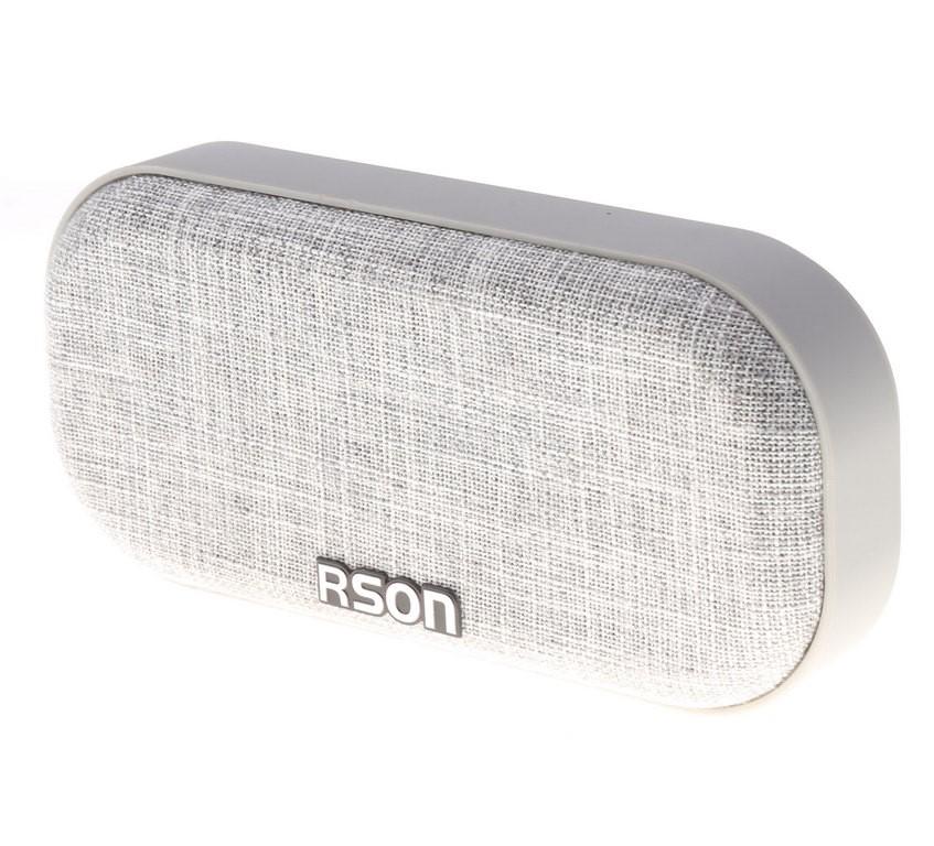 2 x RSON Bluetooth Wireless Speakers, Output 3W, Oval Shaped, 190 x 90mm Gr