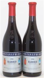 Fontanafredda Barolo DOCG 1990 (2x 750ml),Piedmont.5 Star Prov