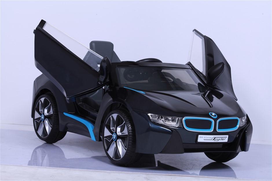 BMW I8 Electric Ride On Car - 12V - Black