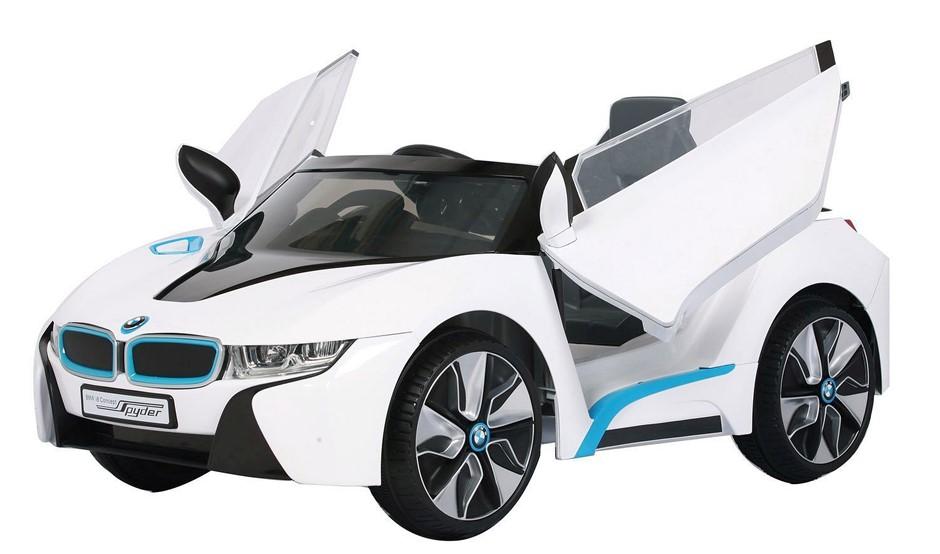 BMW I8 Electric Ride On Car - 12V - White