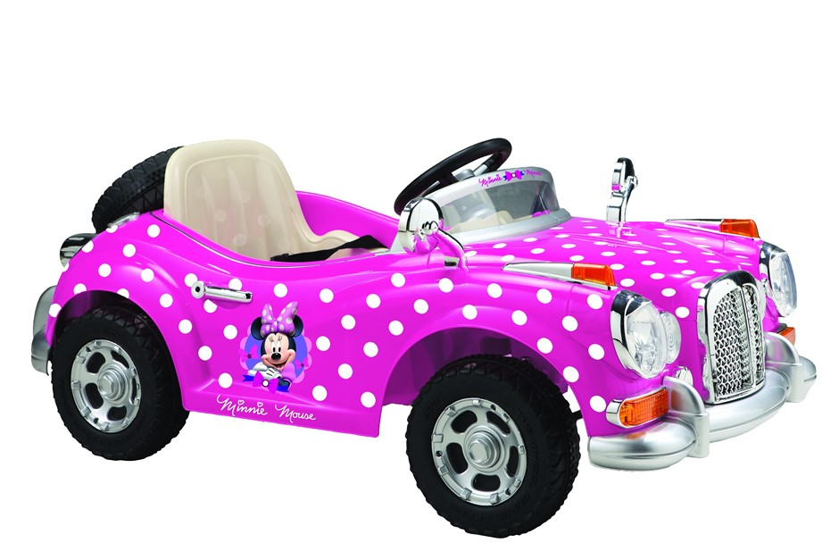 Minnie Vintage Car Electric Ride On Car - 6V