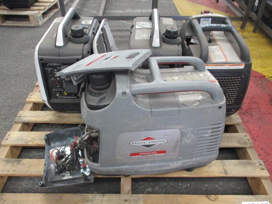 Qty 4 x Portable Generators