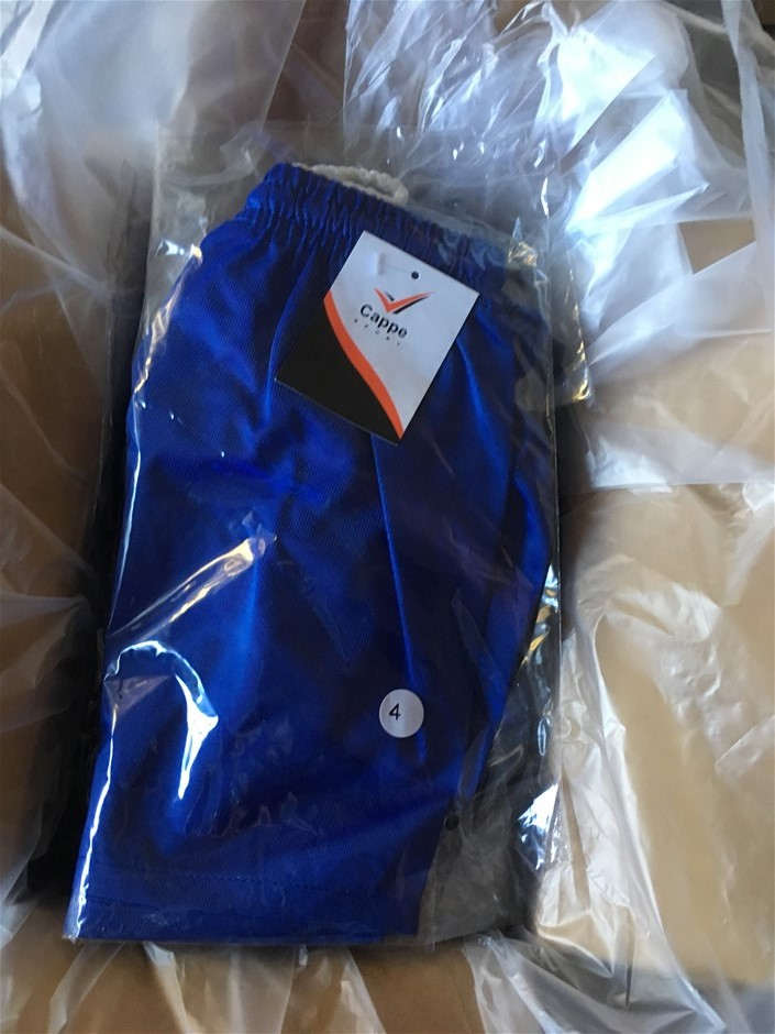 9 x Assorted Cappe Sport Shorts, Mixed Sizes