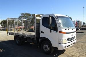 2001 Hino Dutro 4 x 2 Tray Body Truck