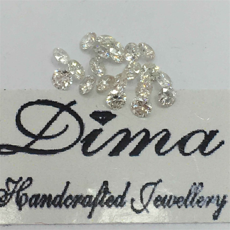 Twenty Stones Diamond 0.38ct in Total
