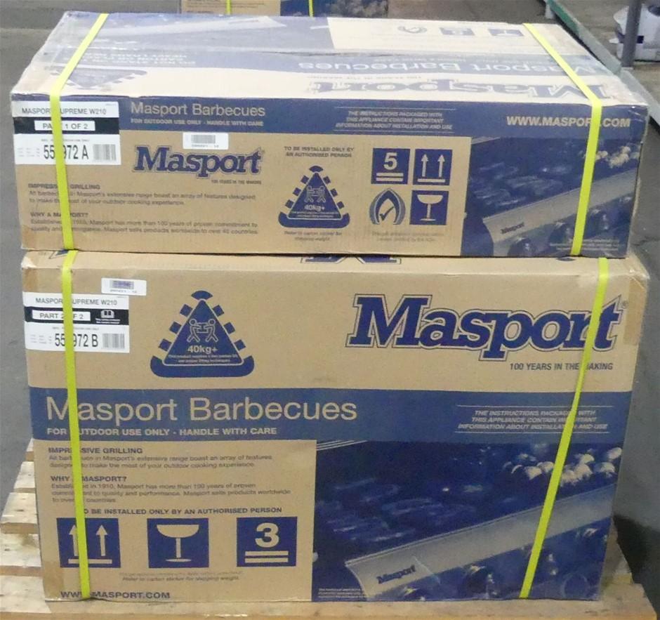 NEW Masport 552972 Supreme W-2106 Burner Gas BBQ